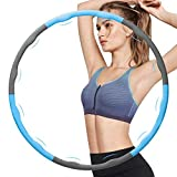Best Hula Hoops - Weighted Hula Hoop for Exercise, Workout Hula Hoops Review