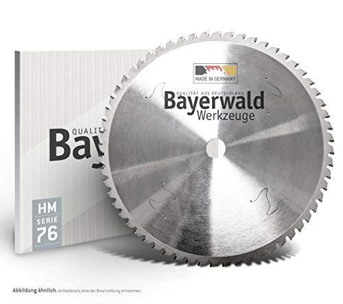 Bayerwald - HM Kreissägeblatt | Serie 11.76 - Trapezflachzahn | Dry Cutter Profistahl (Ø 355 mm x 25,4 mm x 72 Z)