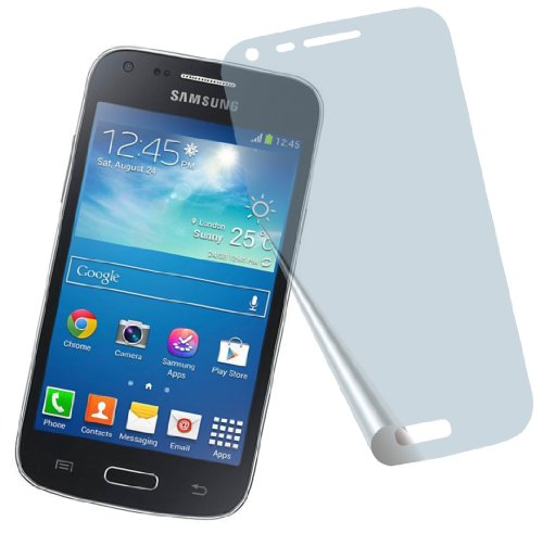 4ProTec I 2X Samsung Galaxy Core Plus SM-G350 G3500 PANZERFOLIE Displayschutzfolie Bildschirmschutzfolie Schutzhülle Displayschutz Displayfolie Folie kristallklar