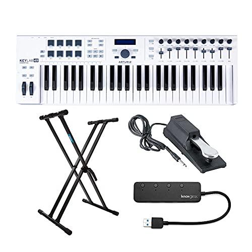 Arturia KeyLab Essential 49 Keyboard Controller with Knox ...