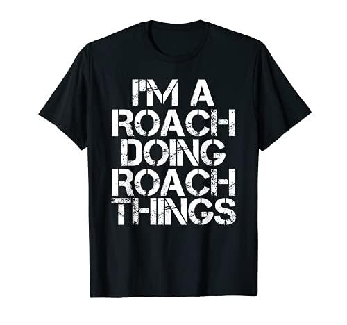 ROACH Divertida idea de regalo de reunión de cumpleaños de árbol genealógico Camiseta