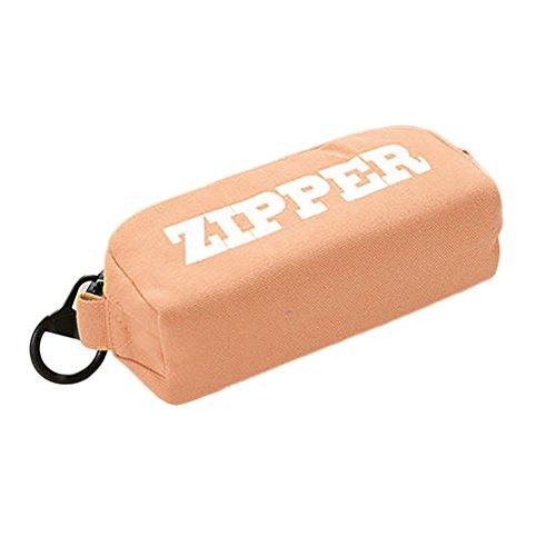 fablcrew Tasche Canvas-Bleistift-Große Kapazität mit Reißverschluss groß Handtasche von Desktop-Effekte 20.5* 8.5* 7cm 20.5x8.5x7cm orange