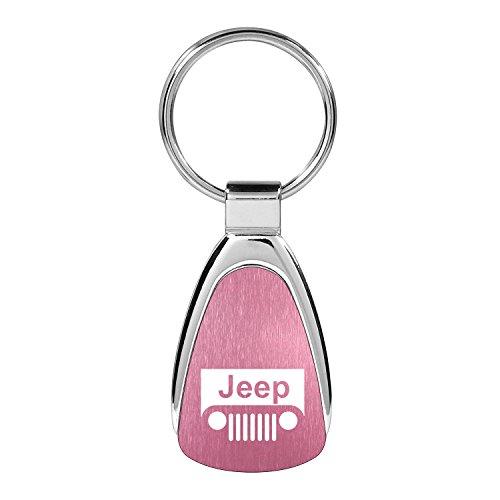 Au-Tomotive Gold, INC. Jeep Grille Logo Pink Tear DRO