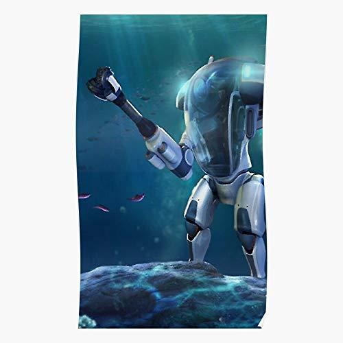 Ocean New Gamer Gaming Cool Games Subnautica Hot Aurora das Beste und neueste Plakat für Wandkunst Wohnkultur Zimmer
