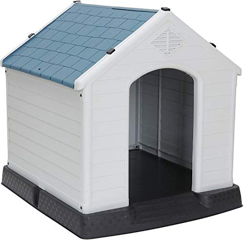 Pet Republic Dog House Medium Small Waterproof Ventilate Pet House Plastic Puppy Shed Outdoor & Indoor