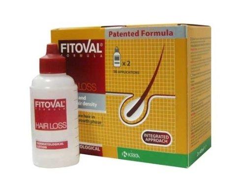 Fitoval – Dermatologische Lotion gegen Haarausfall–Intensive Behandlung gegen Haarausfall (2Ampullen à 40ml)