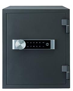 Yale YFM-420-FG2 YFM/420/FG2 Caja Fuerte Ignifuga, Negro, Grande 420 x 352 x 433 mm