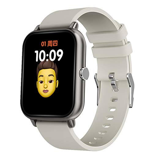 ZYY A20 Bluetooth Call Smart Pulsera, Reproductor De Música Local, Monitor De Temperatura Corporal, Monitoreo De Tarifas Cardíacas Reloj Deportivo para iOS Android,C
