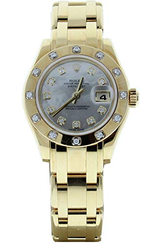 Rolex-18k-Yellow-Gold-Ladys-Masterpiece-80318-Factory-Mother-of-Pearl-Diamond-Dial-12-Diamond-Bezel-Certified-Preowned