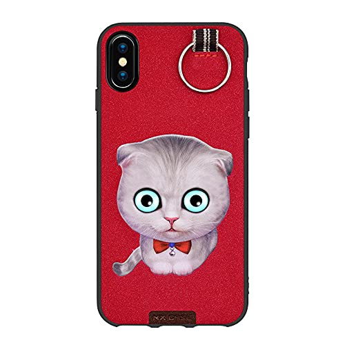 Adecuado para iPhoneX funda de teléfono móvil Apple 12 todo incluido pro cat 3D tridimensional pintado suave anti-caída negro gato 5.8 pulgadas iPhone X/XS
