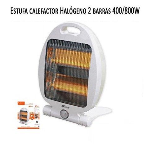 Heizlüfter Heizstrahler 2Rohre Quarz 800W. RADIATOR Heizgerät Heizkörper Halogeno Wärme Haus