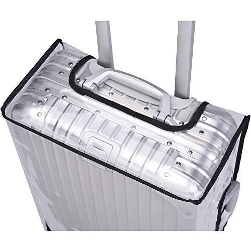 DeviceProductsTOPASトパーズ/ORIGINALオリジナル用スーツケースカバーマジックテープタイプ黒フチ【型番:923・924・925用】(56型)