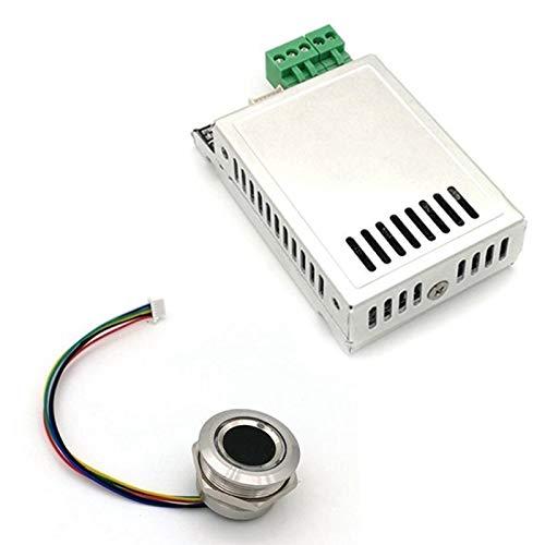 Camisin K216+R503 módulo de huellas dactilares controlador de coche de control de ignición anillo relé capacitiva huella dactilar control de acceso Junta