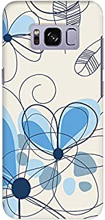 Stylizedd Samsung Galaxy S8 Plus Slim Snap Case Cover Matte Finish - Daisy Lines - Multi Color