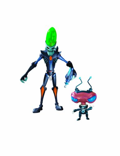 Ratchet & Clank Series 1: Dr. Nefarious with Zoni Action Figure by DC Comics