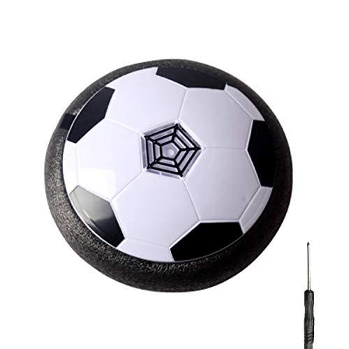 HIZQ Hover Soccer Ball, Jouet Enfant Ballon De Foot avec LED Air Power Soccer Lumière, Cadeau d'anniversaire pour Garçons Filles Jeune Enfant Jeux Intérieur Extérieur Sport Ball