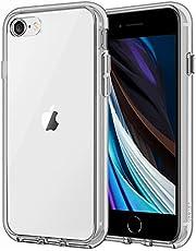 JEDirect iPhone SE 第2世代 iPhone7 iPhone8 ケース バンパー 衝撃吸収 傷つけ防止 (グレー)
