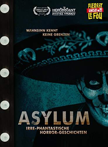 Asylum - Irre-phantastische Horror-Geschichten - Limited Edition - Mediabook (uncut) (+ DVD) - Cover C [Blu-ray]