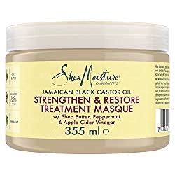 Shea Moisture Jamaican Black Castor Oil Strengthen Grow and Restore Treatment Masque Review