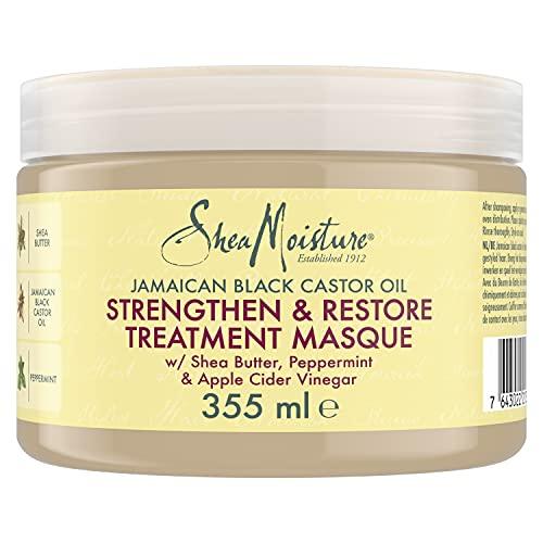 Shea Moisture Jamaican Black Castor Oil Strengthen/Grow and Restore Treatment Masque, 340 g