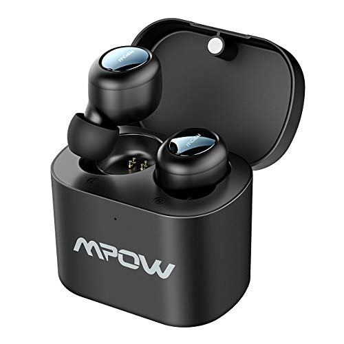 Mpow Auricolari Bluetooth TWS, Auricolari Wireless 5.0 True TWS, 2 Modalità/15 Ore di Riproduzione,...