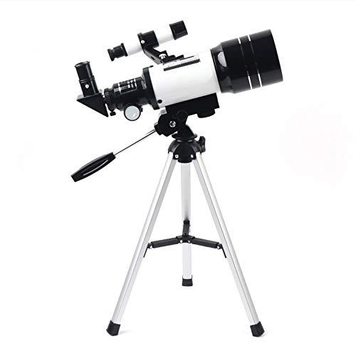 ZZJ Travel Scope 70Mm 300Mm Telescopio Astronómico Monocular Al Aire Libre Profesional Spotting con El Trípode para Niños Y Principiantes