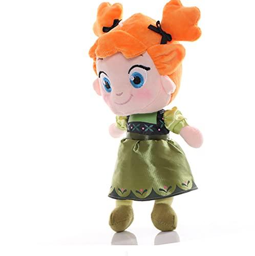Muñeca De Peluche Congelada De Juguete, Linda Anna Elsa, Reina De Las Nieves, Princesa, Muñeca De 30 Cm, Juguetes De Peluche, Cumpleaños para Niños
