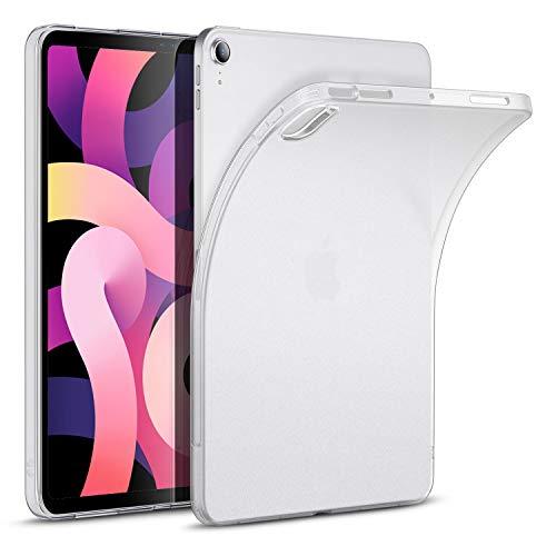 ESR Matt-Hülle für iPad Air 10.9 2020(4.Generation) [Durchscheinende Rückenhülle] [Unterstützt Kabelloses Stiftladen], Matt-klar.