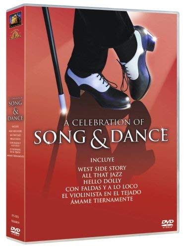 A Celebration of Song & Dance - 6-DVD Box Set ( West Side Story / All That Jazz / Hello, Dolly! / Some Like It Hot / Fiddler on the Roof / Love Me Tender ) [ Spanische Import ]