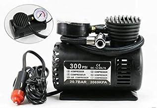 Uwilla Air Compressor Inflator Pump for car, Bike, tubeless tyre. 12V 300 PSI air Pump