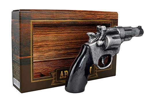 armenischer Brandy Revolver in Keramik Flasche, 40% Alk, 5 Jahre gereift, 0,1L