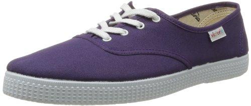 victoria 6613_Violet (Purpura) - Zapatillas de Deporte de Tela para Mujer, Color...