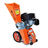 Forest Master Compact FM6DD-MUL 6HP Petrol Wood Chipper Shredder Mulcher Suitable for Green Waste, Paper, Cardboard Branches up to 50mm
