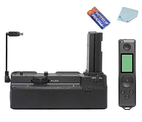 Venidice Battery Grip MCO-Z6Z7PRO, supporto per impugnatura verticale compatibile con fotocamere mirrorless Nikon Z6 Z7, con telecomando wireless 2.4G, nero
