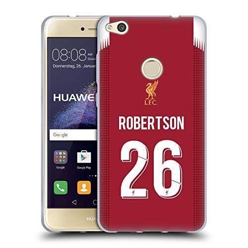 Head Case Designs Oficial Liverpool Football Club Andy Robertson 2019/20 Jugadores Home Kit Grupo 2 Carcasa de Gel de Silicona Compatible con Huawei P8 Lite (2017)