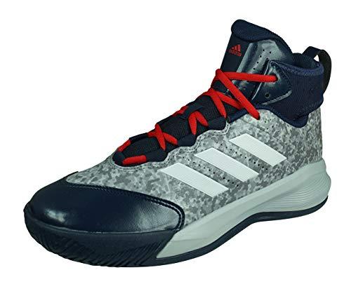 adidas Rim Reaper 2015 Zapatillas de Baloncesto para Hombre Zapatos Alto-Grey/Blue-47 1/3