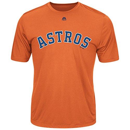 Majestic Men's Cool Base MLB Evolution Shirt Houston Astros XL
