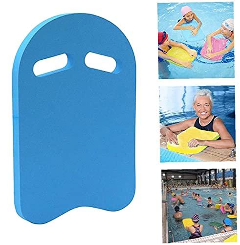 KAKAF Tabla de natación para niños y adultos, ayuda a la formación, ideal para ejercicios de natación y entrenamiento y acuarios deportivos (azul)