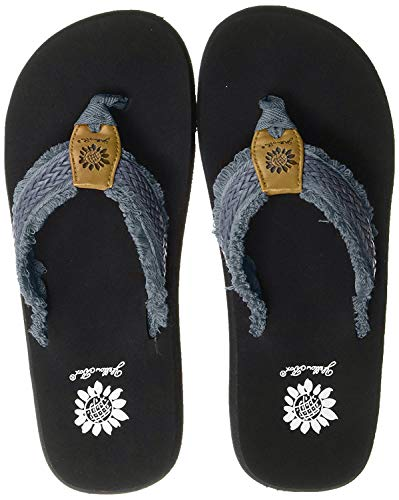 Yellow Box Damen Fianni Flipflop, Denim, 37 EU