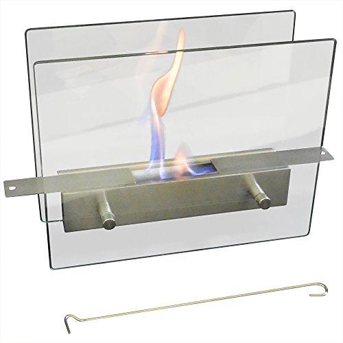 ガレージ・ゼロ(Garage Zero) バイオエタノール暖炉 ガラススタンドタイプ スライド開閉 GZIT13