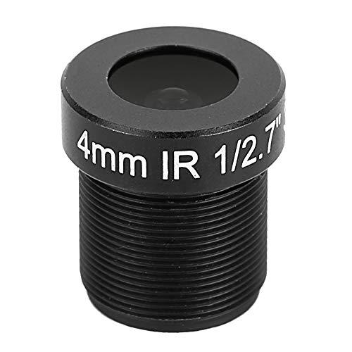 Lente de la cámara CCTV 4mm 3MP Placa de alta definición Lente Reemplazo de seguridad Lente de la cámara para la mayoría de los modelos a juego-Negro
