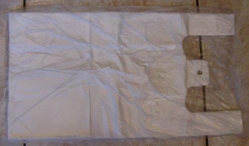 2000 Stk HDPE Hemdchentragetaschen weiss 25 x 12 x 45 cm