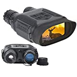 T-Eagle Infrared Digital Hunting Night Vision Binoculars 2.0 LCD Military Day and Night Vision Goggles Telescope for Hunting NV400B 7X31