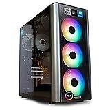 dcl24.de Gaming PC [13584] Intel i7-10700KF 8x3.8 GHz - Z490, 500GB M.2 SSD & 2TB HDD, 32GB DDR4, RTX3060 12GB, WLAN, Windows 10 Pro