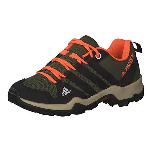 adidas Terrex AX2R K, Zapatillas de Senderismo, PINSIL/NEGBÁS/NARCHI, 38 EU