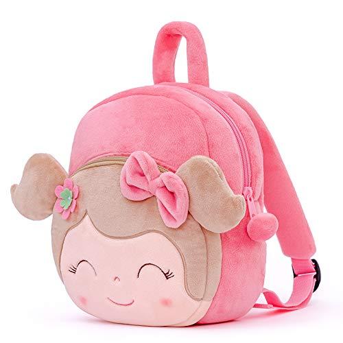 Gloveleya Kinderrucksack Kleinkind Rucksäcke Karikaturrucksack Baby Mädchen Reise Verwendung - Frühling Mädchen Rucksack Serie - Rosa