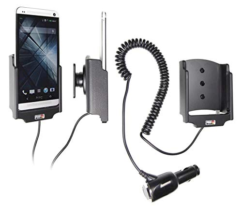 Brodit 512524 Support Voiture HTC One avec Chargeur Allume Cigare avec Rotule orientable