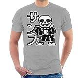 Cloud City 7 Undertale Sans Japanese Text Men's T-Shirt