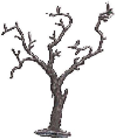Domus Kits 3899, Lot de 2 Petites, Seulement Branches, Feuilles d'arbres