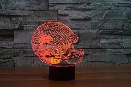 Atlanta Falcons Led Tischlampe Neonschild Neu 3D Neon NFL USA schneller versand